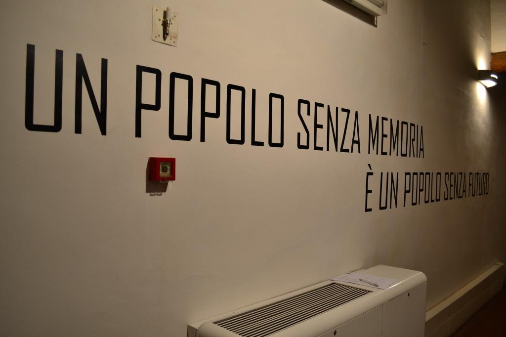 Un popolo senza memoria è un popolo senza futuro